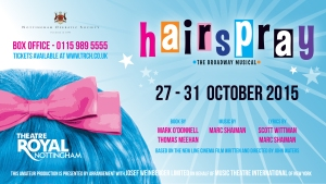 Hairspray-Projection-screen