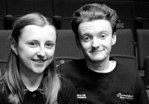 Laura Jayne Bateman and Nick Gill Nottingham New Theatre.