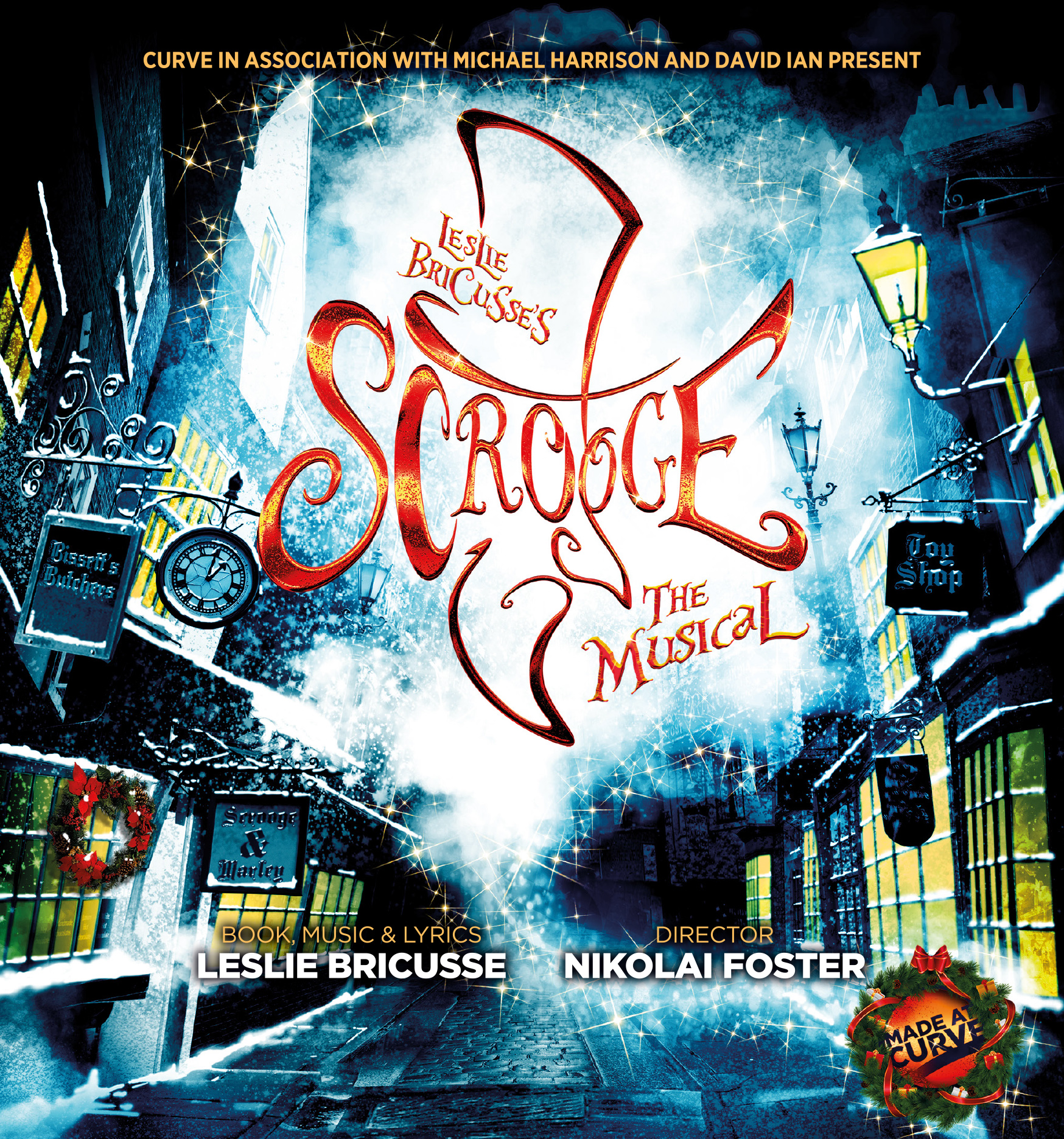 Curve Leicester Announces Full Cast For Scrooge The