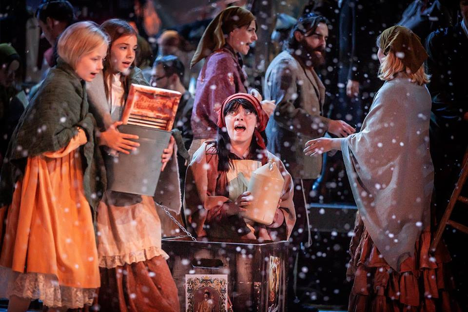 Review: Fiddler On The Roof  5 stars! Curve Young Company
