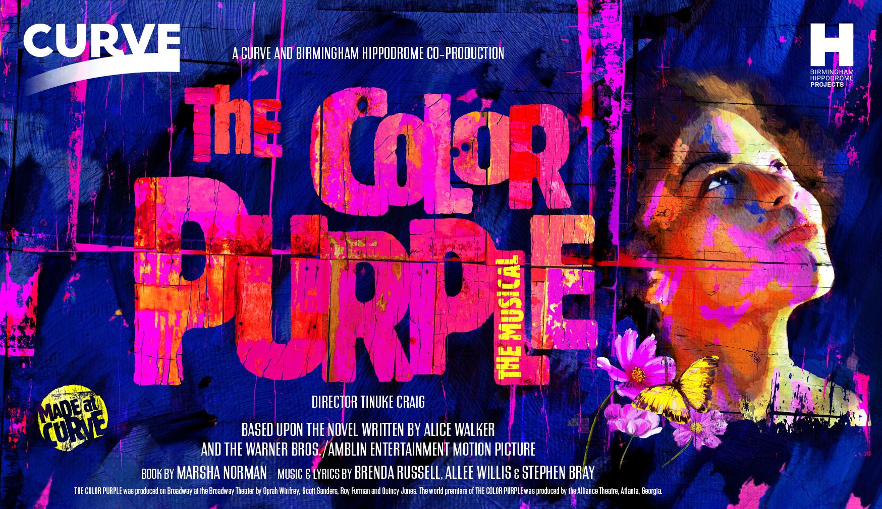 Promo: The Color Purple musical. Curve and Birmingham Hippodrome ...