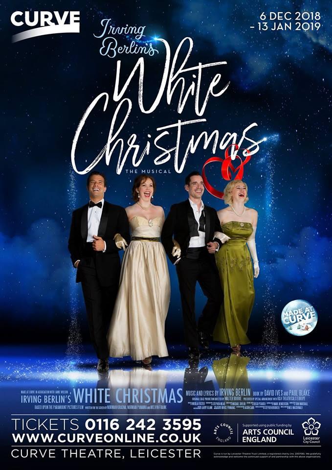 Christmas Harmony Cast.White Christmas East Midlands Theatre