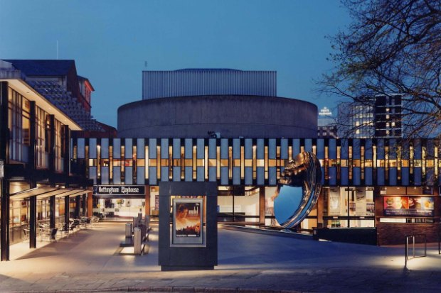 Exterior of Nottingham Playhouse