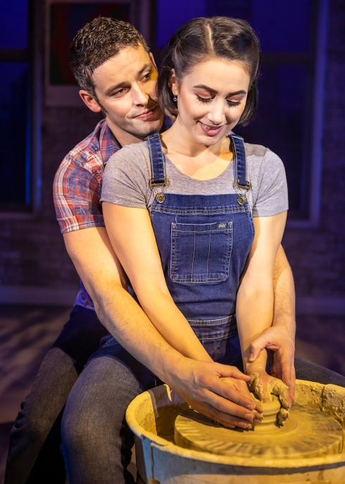 Ghost: Sam & Molly at potters wheel
