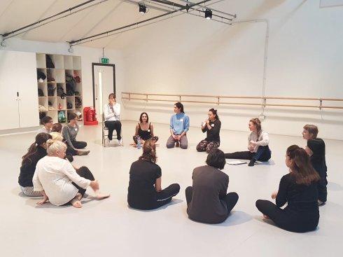 Faltonia, dance workshop day 1