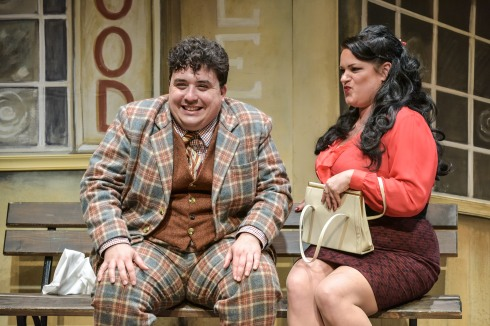 PRESS OMTGuvnors (David O'Reilly as Francis Henshall & Rosie Strobel as Dolly) # 2