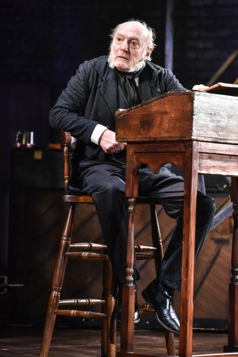 A Christmas Carol at Derby Theatre (Gareth Williams as Scrooge) Photo Robert Day