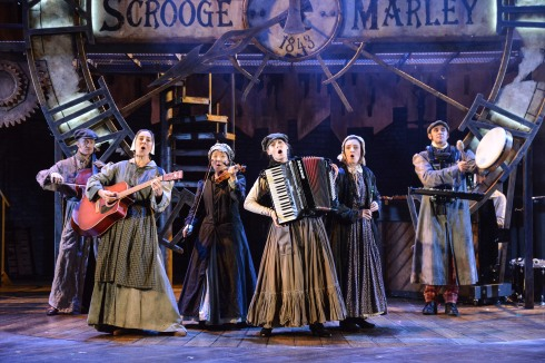 A Christmas Carol at Derby Theatre Photo Robert Day 4